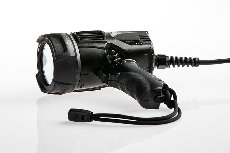 UVL-Handlampe 365nm liegend