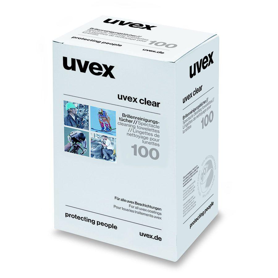 UVEX Feuchtreinigungstücher silikonfrei 100 Stk.